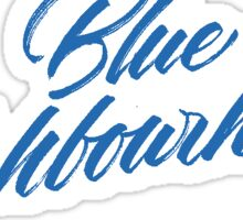 #BlueNeighbourhood Logo Sticker