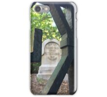 Haunted Mansion Graveyard iPhone Case/Skin