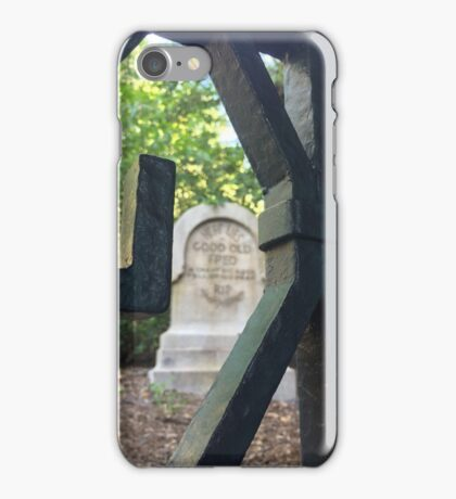 Haunted Mansion Graveyard iPhone Case/Skin