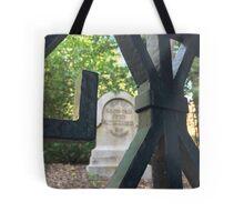Haunted Mansion Graveyard Tote Bag