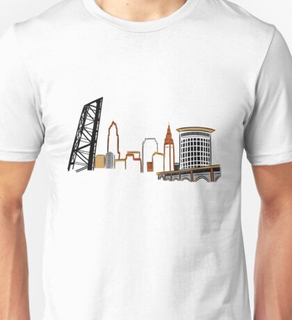 CLEVELAND the City Skyline Unisex T-Shirt