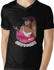 Ariana - Side To Side Mens V-Neck T-Shirt