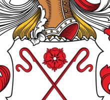 Wahl Coat of Arms (German) Sticker