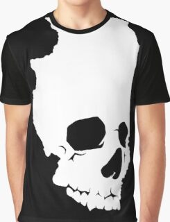 Skullinois On Black Shirts Graphic T-Shirt