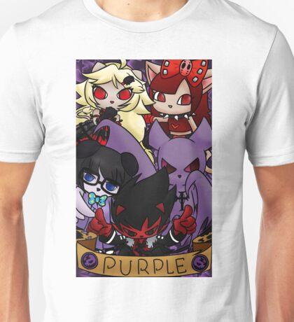 Purple Bands Unisex T-Shirt