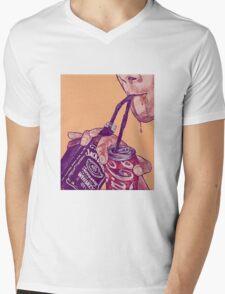 Jack and Coke Mens V-Neck T-Shirt