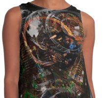 Digitally painted cycle engine Contrast Tank