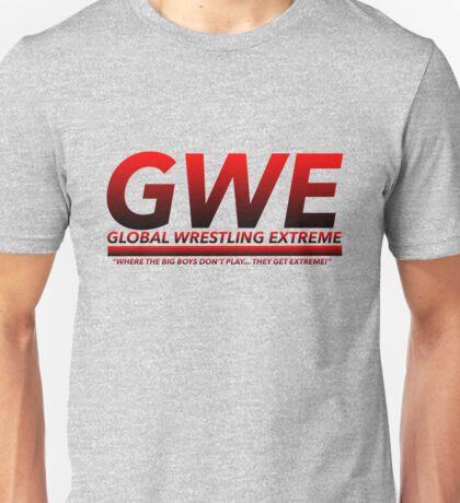 Global Wrestling Extreme Logo Unisex T-Shirt