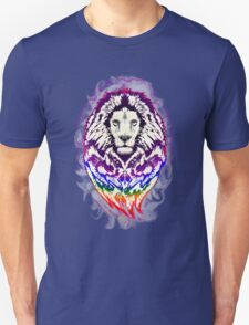 Lion Psychedelic Pop Art Unisex T-Shirt