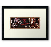 Wrath of Pumpkinhead Framed Print