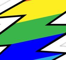 Rainbow Bolt Sticker