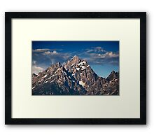 Sunrise Over The Grand Teton Framed Print