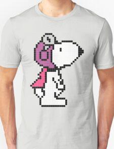 Pixelize Snoopy Unisex T-Shirt