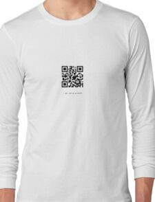 i am not a product Long Sleeve T-Shirt