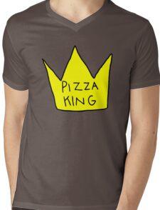 Pizza King Mens V-Neck T-Shirt