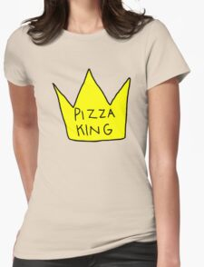 Pizza King Womens Fitted T-Shirt