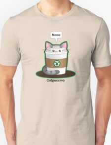 Cute Cat Coffee Unisex T-Shirt