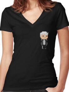 Gerard Way(MCR) Pixel  Women's Fitted V-Neck T-Shirt