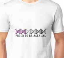 Asexual Pride DNA Unisex T-Shirt