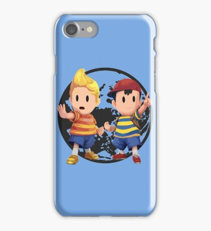 Ness and Lucas iPhone Case/Skin