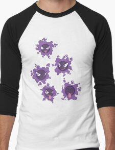 Pokemon Gastly Men's Baseball ¾ T-Shirt