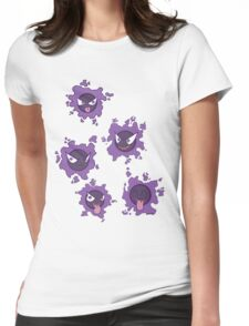 Pokemon Gastly Womens Fitted T-Shirt