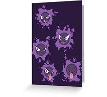 Pokemon Gastly Greeting Card