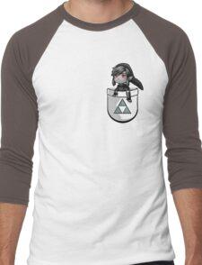 Pocket Dark Link Men's Baseball ¾ T-Shirt