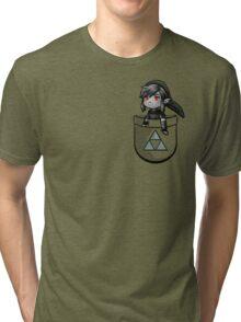 Pocket Dark Link Tri-blend T-Shirt