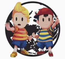 Ness and Lucas One Piece - Short Sleeve
