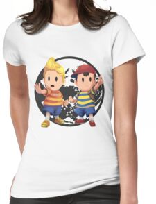 Ness and Lucas Womens Fitted T-Shirt
