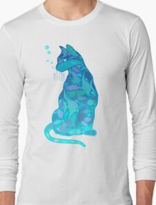 SWIM IN A CAT Long Sleeve T-Shirt