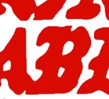 KANYE WEST - SAINT PABLO TOUR  Sticker
