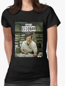 Narcos A.K.A Pablo Escobar Womens Fitted T-Shirt