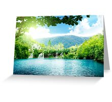 Heaven Land Greeting Card