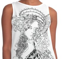 Crown Of Thoughts Contrast Tank