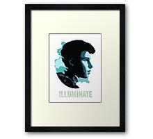 SM Illuminate Framed Print