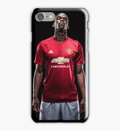 Paul Pogba iPhone Case/Skin