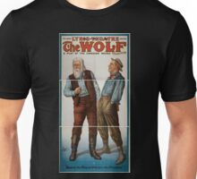 Performing Arts Posters The wolf a play of the Canadian woods by Eugene Walter 0560 Unisex T-Shirt