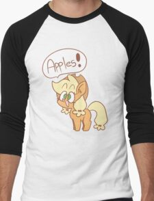 Apples!! Men's Baseball ¾ T-Shirt