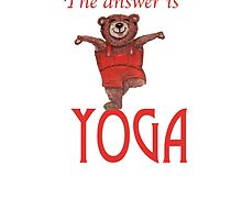 The answer is YOGA by Monica Batiste