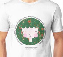 Buddhist Meditation Mantra - Zen Girl Series Unisex T-Shirt