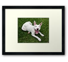 You Want It When….. Framed Print