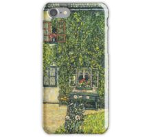Gustav Klimt - The House Of Guardaboschi 1912 iPhone Case/Skin