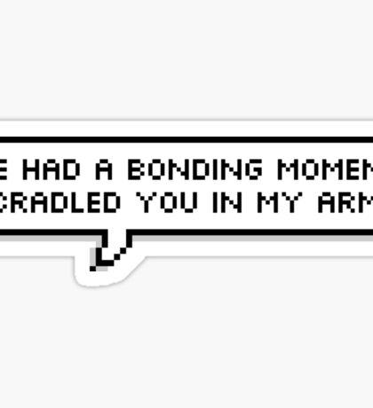Bonding Moment [VLD] Sticker