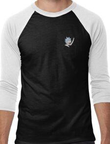Pocket Pal - Tiny Rick Men's Baseball ¾ T-Shirt