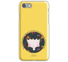 Buddhist Meditation Mantra - Zen Girl Series iPhone Case/Skin