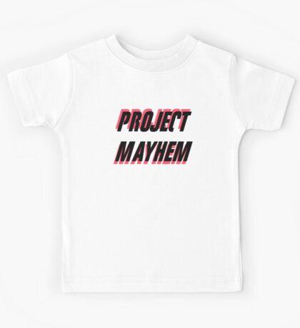 Project Mayhem Kids Tee