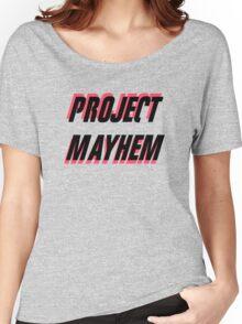 Project Mayhem Women's Relaxed Fit T-Shirt