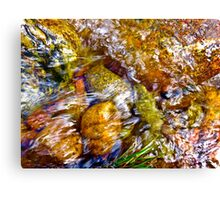 Gore Creek Abstract 1 Canvas Print
